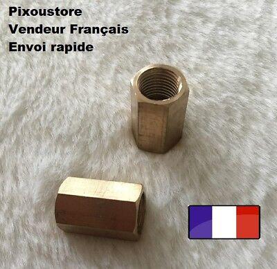 """Lot De 4 Raccords Adaptateur En Cuivre Femelle Femelle En 1/8"""" Neufs 9,7mm 3-1"""