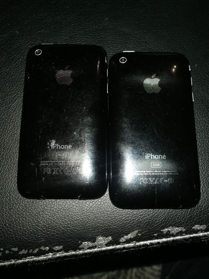 iPhone 3G, 32 GB, sort
