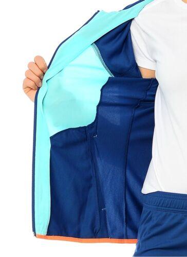 Reebok StretchTrainingsanzug Damen Jogging Suit Hood Sport Freizeit Fitness blau