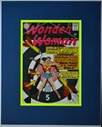 WONDER WOMAN #156 Pin up Poster Matted Frame Ready DC