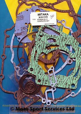 Full Engine Gasket Set KTM 200 KTM200 2003 to 2015 EXC SX MItaka
