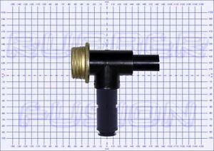 Gas-Mask-Respirator-BLACK-NITRO-T-Piece-Tee-Coupler-Adapter-Fitting-Choice