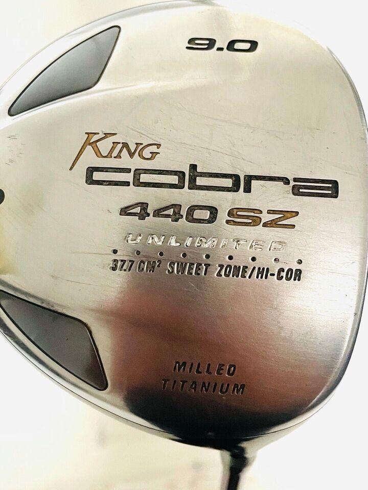 Herre golfsæt, grafit, King Cobra Driver