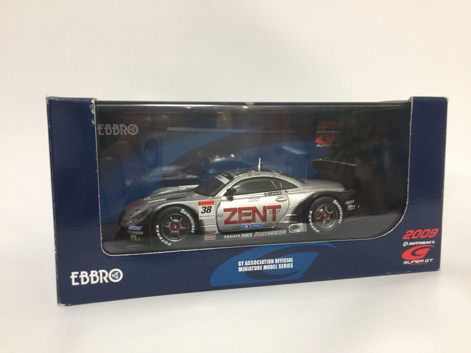 conveniente 1 43 Ebbro 44183 44183 44183 Súper GT500 Zent serumo SC430 2009  38 Japan F S  Entrega rápida y envío gratis en todos los pedidos.