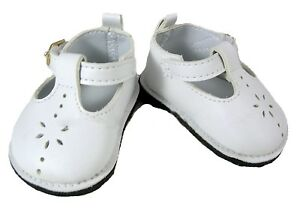 White Patent Mary Jane Dress  Shoes Fits 18 inch American Girl Dolls