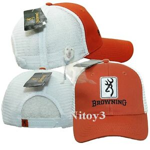 Browning Dry Creek Trucker Mesh Baseball Cap-casquette Homme Taille Unique-afficher Le Titre D'origine
