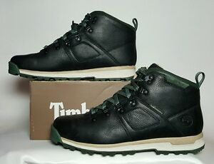 42dc5045ef76 THE HUNDREDS X TIMBERLAND GT SCRAMBLE MID BLACK LEATHER LIMITED ...