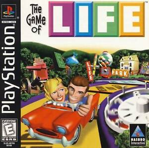 Game Of Life PS1 Great Condition Complete Fast Shipping