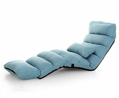 Sofa Bed Reclining Chaise Lounge Couch Japanese Style Floor Soft Relaxing  Decors | eBay