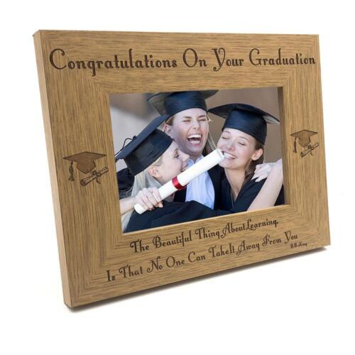 The beauty of learning graduation Wooden Photo Frame FW229
