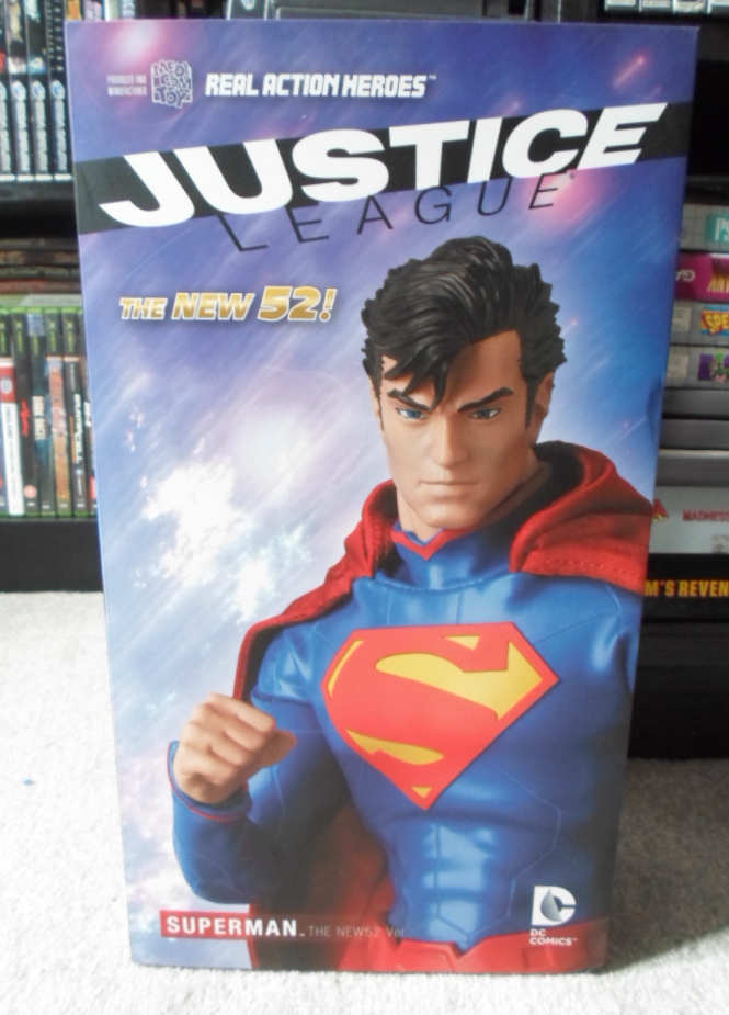 DC Superheroes THE NEW 52 SUPERMAN Real Action Hero FIGURE RAH 1 6 Scale NEW