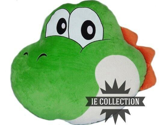 Super Mario Yoshi Kissen 40 cm Plüsch Cushion Pillow Bros Oreiller World New
