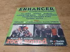 ENHANCER - ILL NINO - RANCID !!!!!!!!!!!RARE CD!!