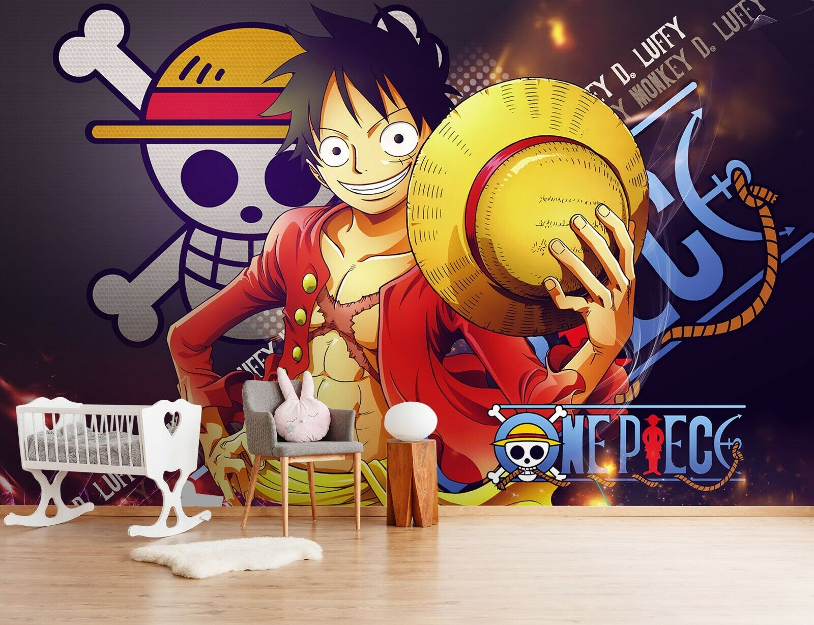 3D One Piece Classic 325 Japan Anime Game Wallpaper Mural Poster Cartoon Cosplay