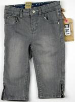 Baby Girl Jeans Capri Oshkosh Gray Denim Infant Toddler Kids Osh Kosh