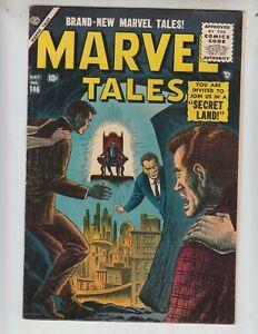 Marvel-Tales-146-VF-8-0-5-56-Atlas-034-Join-Us-In-A-Secret-Land-034