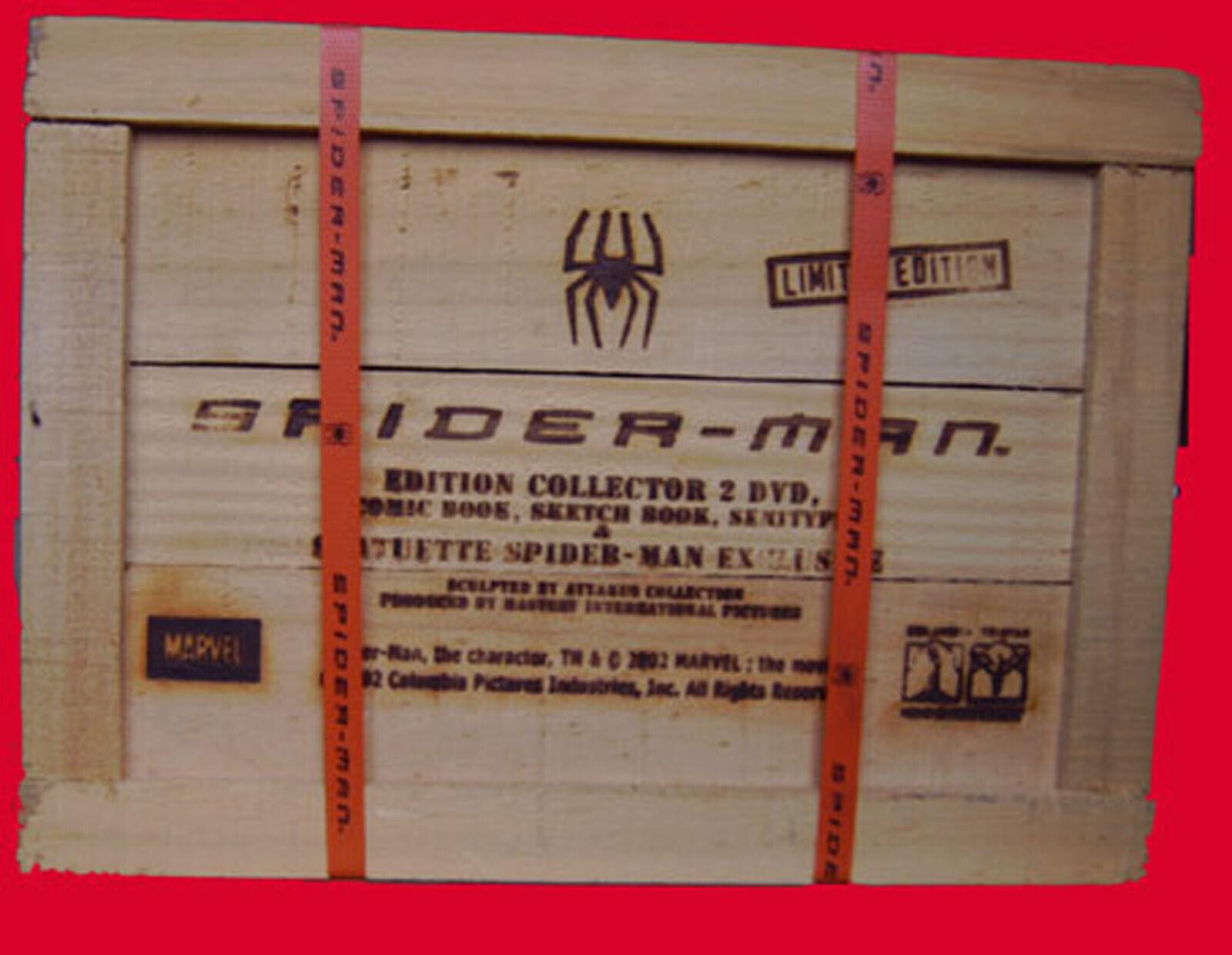 COFFRET BOIS SPIDER-MAN  Ultimate  EDITION LIMITEE LIMITEE LIMITEE NEUF SCELLE 7bfc18