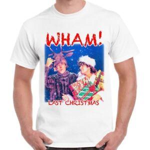 Last-Christmas-Wham-George-Michael-Cool-Vintage-Retro-T-Shirt-492