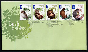 2013-Bush-Babies-International-FDC-First-Day-Cover-Stamps-Australia