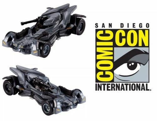 SDCC 2017 HOT WHEELS Justice League Batmobile Mattel EXCLUSIVE Sold Out At Show
