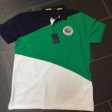GANT NEW HAVEN CRISPY SPINNAKER PIQUE RUGGER GREEN POLO SHIRT SIZE 2XL XXL NEW