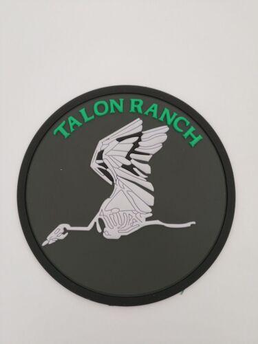 Talon Ranch Bone Crane 8th Sos Nose Art Patch Glow In Dark Patch