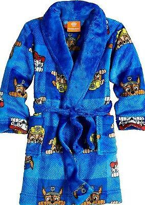 Paw Patrol Toddler Luxe Minky Fleece Character Bathrobe Robe