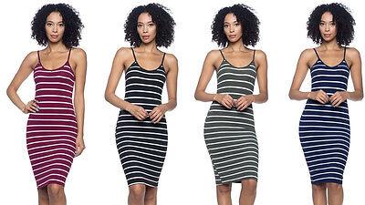 New Women/'s Plus Size Basic Tank Dress Bodycon Skirt 1X 2X 3X Racerback 1904X
