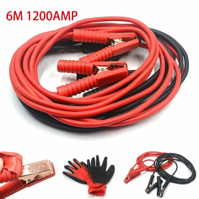 Heavy Duty 1000A Jump Leads 5M Long Car Van Commercial starter Cables
