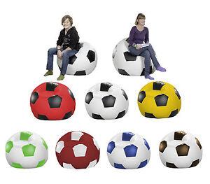 Fussball-Sitzsack-Sitzkissen-Bodenkissen-Sessel-Sofa-Kissen-Sitz-Sack-Fussball-WM