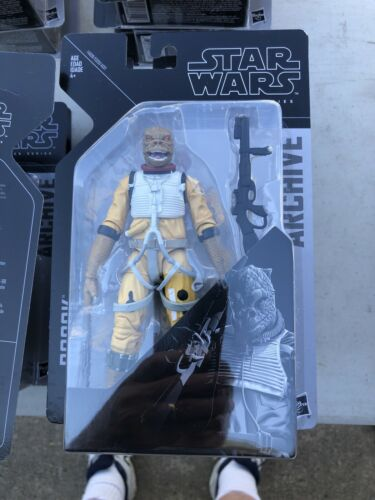 Mint On Card Star Wars Black Archives 6 Inch Bossk