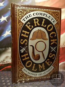 NEW-SEALED-The-Complete-Sherlock-Holmes-by-Sir-Arthur-Conan-Doyle-Bonded-Leather