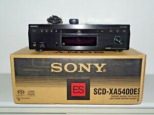 Sony SCD-XA5400ES High-End SACD-Player Schwarz, OVP&NEU, 2 Jahre Garantie