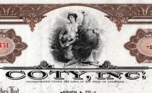Coty-Inc-Aktie-1936-USA-Parfuem-Duft-Kosmetik-America-Davidoff-joop-Lancester