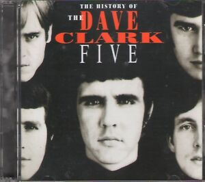 THE-HISTORY-OF-DAVE-CLARK-FIVE-2-CD-GIFT-50-Tracks-Jewel-Case-36-Page-Booklet