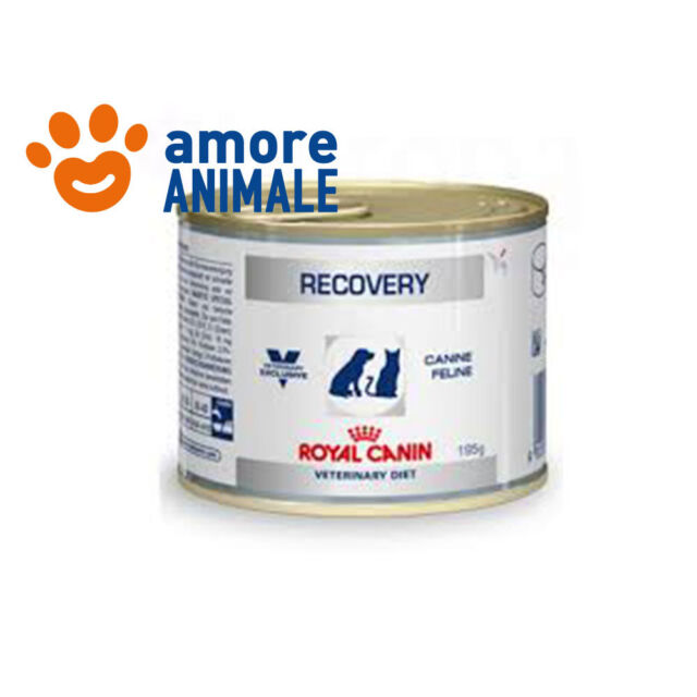 Royal Canin Recovery 195 gr Lattina-Barattolo - Alimento umido cane gatto