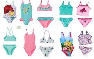 Set Bagno Hello Kitty.Dettagli Su Maedche Bambini Costume Da Bagno Bikini Set Frozen Maja Trolls Hello Kitty