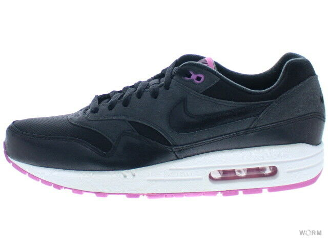 NIKE WMNS AIR MAX ESSENTIAL anthracite/black-red violet Size 11.5