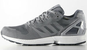 hot sale online a069f 46c8a 2015 ADIDAS ZX FLUX WEAVE GORE-TEX GTX ONIX Gr.42 23 UK 8 ..