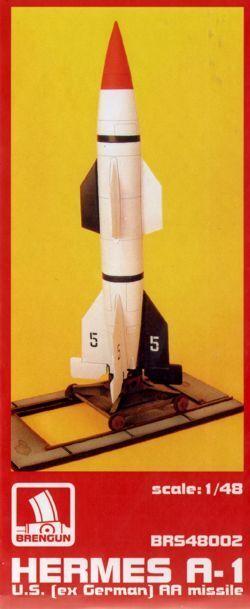 Brengun 1 48 Hermes A-1 Aa Razzo
