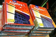 Holt Algebra 1: SCHOOL MATH TEXTBOOK BOOK