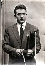 FOTO CARTOLINA 1950 MIKE BONGIORNO NEL FILM: TOTO LASCIA O RADDOPPIA - TITANUS