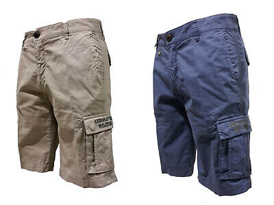 GALEOTTO Madison Rip e riparazione Denim Jeans Micro Pantaloncini BNWT RRP £ 17.99 Mid Wash