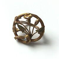 Coulant de Sautoir Coulisseau en Or 18 Carats 1900 Circa pour Sautoir 18K Gold