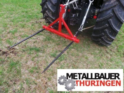 Ballengabel Heckhydraulik Dreipunkt-Aufnahme Traktor Strohgabel Transportgabel