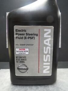 Image Is Loading Electric Steering Fluid E Psf For Nissan