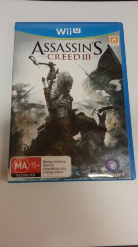 1 of 1 - Assassin's Creed 3  III Nintendo Wii U