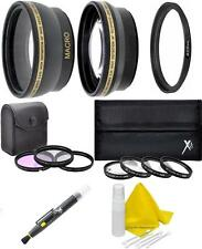 Lens Filter Kit (Wide, Tele, Filter Kit) For Sony Alpha A5000 A5100 A6000 A6300