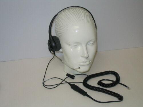 H251-U10P Headset for Toshiba Polycom Aastra ESI Avaya Nortel Commander NT40 NEC