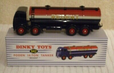 Regent Mint//boxed Diecast Model Atlas Dinky Toys 942 Foden 14-Ton Tanker
